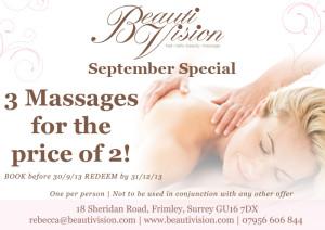 Special Offer Sept 2013