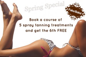 Spray tanning Special Offers